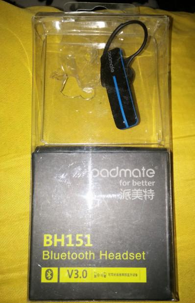 Padmate BH151 bluetooth   www.nowbest.ru