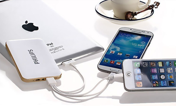 Power Bank Philips 3 порта   www.nowbest.ru
